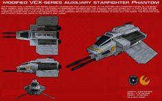 VCX-series auxiliary starfighter Phantom ortho [1] by unusualsuspex.deviantart.com on @DeviantArt