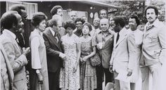These leaders started our great history and planted our roots in the Anti-Apartheid Movement. This photo is from September 1977 at the TransAfrica First Founders Event. #ThrowbackThursday #TBT #history #founders #legacy
