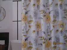 Cynthia rowley yellow floral grey white vine   fabric shower curtain   newCYNTHIA ROWLEY PURPLE JACOBEAN FLORAL TAN TEAL PURPLE FABRIC  . Grey And Purple Shower Curtain. Home Design Ideas