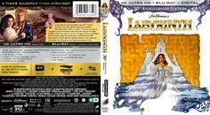 Labyrinth UHD 4K Blu-ray Custom Cover