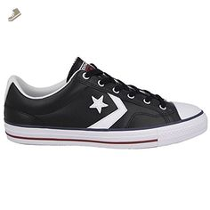 info for dd48c e3c6f Converse Star Player EV OX Fashion Sneakers, Black- White (USW 8  EUR 39   24.5 CM) - Converse chucks for women (Amazon Partner-Link)