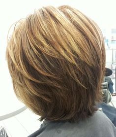 layered bob - Google Search