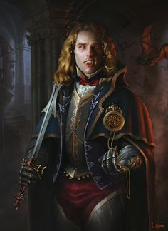 "Tom Cruise as ""Vampire Lestat"" by lizimingkl at DeviantART. I thought this was really cool. #Vampire"