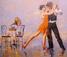 64 Ideas For Couple Dancing Drawings Romantic Couple Painting, Figure Painting, Painting & Drawing, Dancing Drawings, Art Drawings, Danse Charleston, Romantic Dance, Romantic Beach, Tango Art