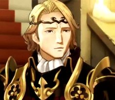 Xander's smile is so precious, can I just treasure it forever?!<<<<He's not smiling, just frowning less intensely