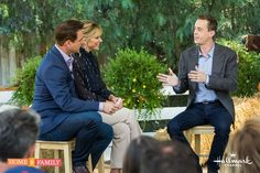 """Thanks out to Home and Family - had a blast today ;)"" ~ Sean Murray"