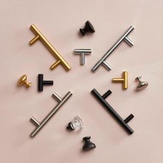 Knobs and pulls and handles, oh my! Find everything you need for your next DIY from Better Homes & Gardens at Walmart. #knobsandpulls #handles #knobsforkitchen #knobsfordresser #knobideas #pullsforcabinets #cabinethardware #replacementhardware #knobdiy