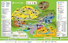 Toronto Zoo | Toronto Zoo Map