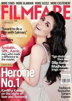 Kareena Kapoor on the Filmfare Magazine