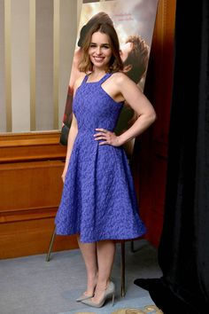 May 22: Me Before You Press Conference - 0522 mbypressconference 0086 - Adoring Emilia Clarke - The Photo Gallery