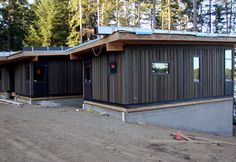 A modular home in Oregon that uses Warmboard radiant heating to efficiently keep the house comfy and cozy.
