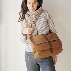 {the Day Pack} love everything about this; the scarf, the stripes, the pants, & of course the bag! $92