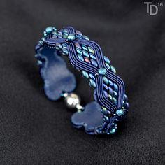 Metallic Blue Snakeskin - TheTerezkaD