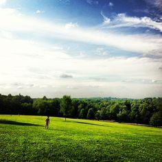 Larz Anderson Park in Brookline, MA