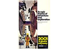2001 A Space Odyssey Large Vintage Sci Fi by FabVintagePosters