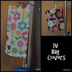 IV Bag Cover - for kids or adults - cover up a scary IV, or brighten up a…
