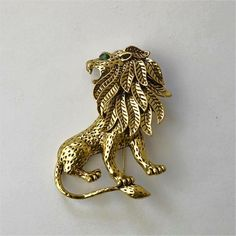 c493db979 Cheap brooch men, Buy Quality harajuku broche directly from China lion  brooch Suppliers: MZC Vintage Gold Lion Brooch Men Suit Harajuku Broches  Lapel Hijab ...