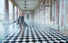 "Daria Strokous photographed by Inez van Lamsweerde and Vinoodh Matadin for Dior ""Secret Garden 2- Versailles"""