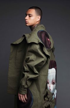 """world-of-fashions: """" Gregory van der Wiel for Life After Football Shot by Justine Leenarts """""""