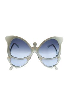 They're funky! ~Oliver Goldsmith's acetate sunglasses. [Photo by John Aquino]