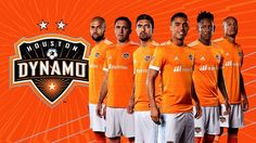 Camisas do Houston Dynamo 2017 Adidas MLS
