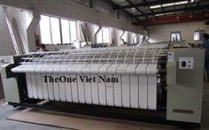 Máy là lô 1 con lăn khổ 2,8m Làm nóng bằng điện, hơi, Gas - Ironer YPA-1280