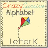 What's in the pack? Kite coloring page Kk is for Kite page Dot the Kk's Kk tracing Connect the Kites Kk practice Decorate the Kks Color the K's and k's I Can Write Kk Cursive booklet ...