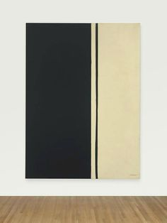 Barnett Newman 1905 Black Fire I. Abstract painting, Black and white. Best Abstract Paintings, Famous Abstract Artists, Picasso Paintings, Abstract Painters, New Artists, Abstract Print, Beautiful Paintings, Art Paintings, Barnett Newman