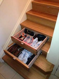 shoerack cum stairs