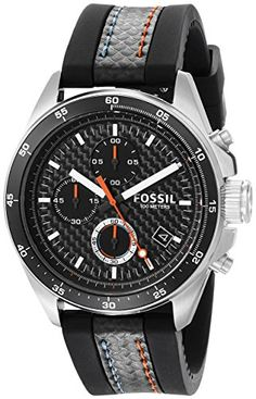 costco skagen men s watch christmas watches fossil men s ch2956 decker chronograph silicone watch black fossil