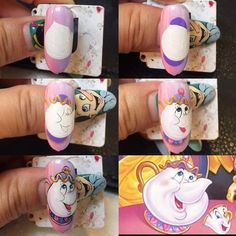 New fails design crazy art tutorials 31 ideas Disney Nail Designs, Crazy Nail Designs, Halloween Nail Designs, Halloween Nails, Nail Art Modele, Nail Art Dessin, Love Nails, My Nails, Mickey Nails
