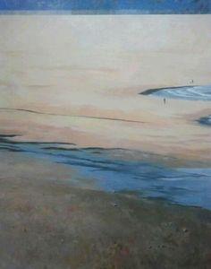 Playa de Salinas (Oleo sobre lienzo) Abril-13