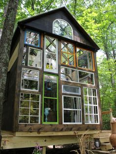 Tiny House with Lots of Windows | HGTV