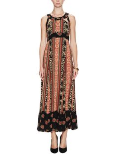 You Made My Day Lace-Up Back Maxi Dress from Free People on Gilt