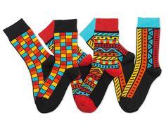 Jak nosit barevné ponožky k obleku ? – SocksInBox