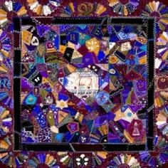 crazy quilting by leona