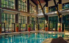 The Lodge at Woodloch, PA - America's Best Hotels for Fall Colors | Travel + Leisure