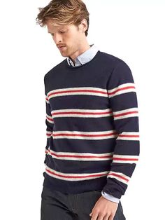 Shop Mens Big And Tall Sweaters With Vibrant Colors - Pretty Long Long Sleeve Sweater, Men Sweater, Tall Men Fashion, Gap Men, Clothing For Tall Women, Tall Guys, Mens Big And Tall, Wool Blend, Sweaters