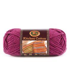 Grape Kitchen Cotton Yarn - Set of Three #zulily #zulilyfinds