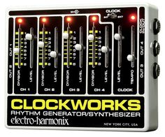 Electro-Harmonix Clockworks Rhythm Generator/Synthesizer