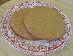 Molasses Cookies – A 1940s Recipe