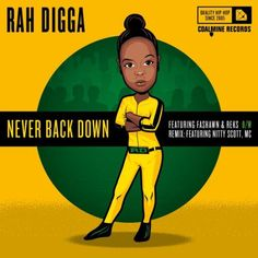 "Rah Digga (feat. Fashawn & REKS) - ""Never Back Down"" (prod. by M-Phazes): New Jeru rap veteran Rah Digga joins forces with Australia's go-to producer M-Phazes for the Maxi-Single Never Back Down. Consisting of two versions, the original mix featuring Fresno's Fashawn and Beantown's REKS, in addition to the previously leaked remix featuring Nitty Scott, MC, Never Back Down showcases top notch lyricism and wordplay over M-Phazes fusion of glitched-out dubstep and gritty guitar riffs."