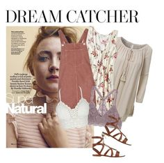 """""""one with nature"""" by fashionbymadi on Polyvore featuring Dušan, LE3NO, American Eagle Outfitters, Topshop and Gianvito Rossi"""