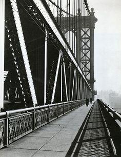 Berenice Abbott, Manhattan Bridge, November 11, 1936