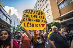 A resistência e o direito de existir: As imagens da 21ª Parada do Orgulho LGBT de São Paulo