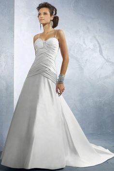<3 Alfred Angelo Wedding Dress 2175. Visit PerfectBridal.com for more info