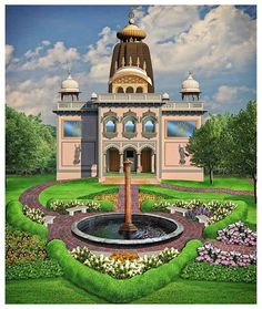 Proposed Design for ISKCON Baltimore's New Temple Project