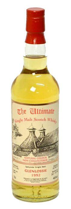 Glenlossie 1992 ultimate single malt scotch whisky
