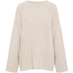 Iro - Walton Sweater (3.200 NOK) ❤ liked on Polyvore featuring tops, sweaters, pink sweater, pullover sweaters, pink top, sweater pullover and pink pullover