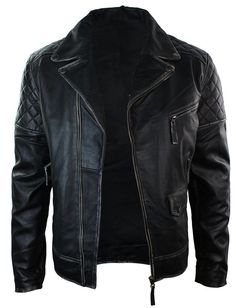 Men's Motorcycle Brando Black Bikers Punk Vintage Leather Jacket | Clothing, Shoes & Accessories, Men's Clothing, Coats & Jackets | eBay!